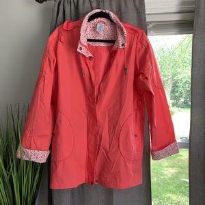 Blair Water Resistant Pink Poplin Jacket Medium